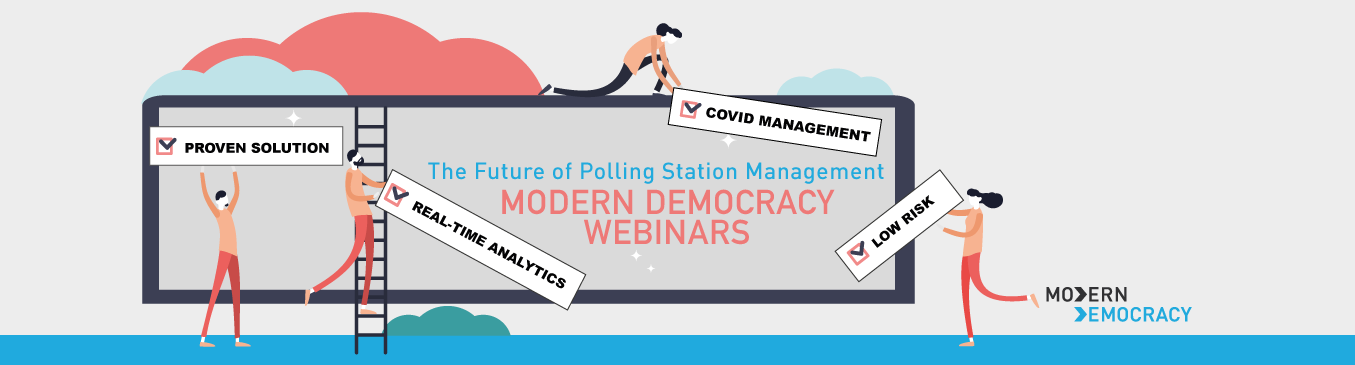 Modern Democracy Election Covid Webinars
