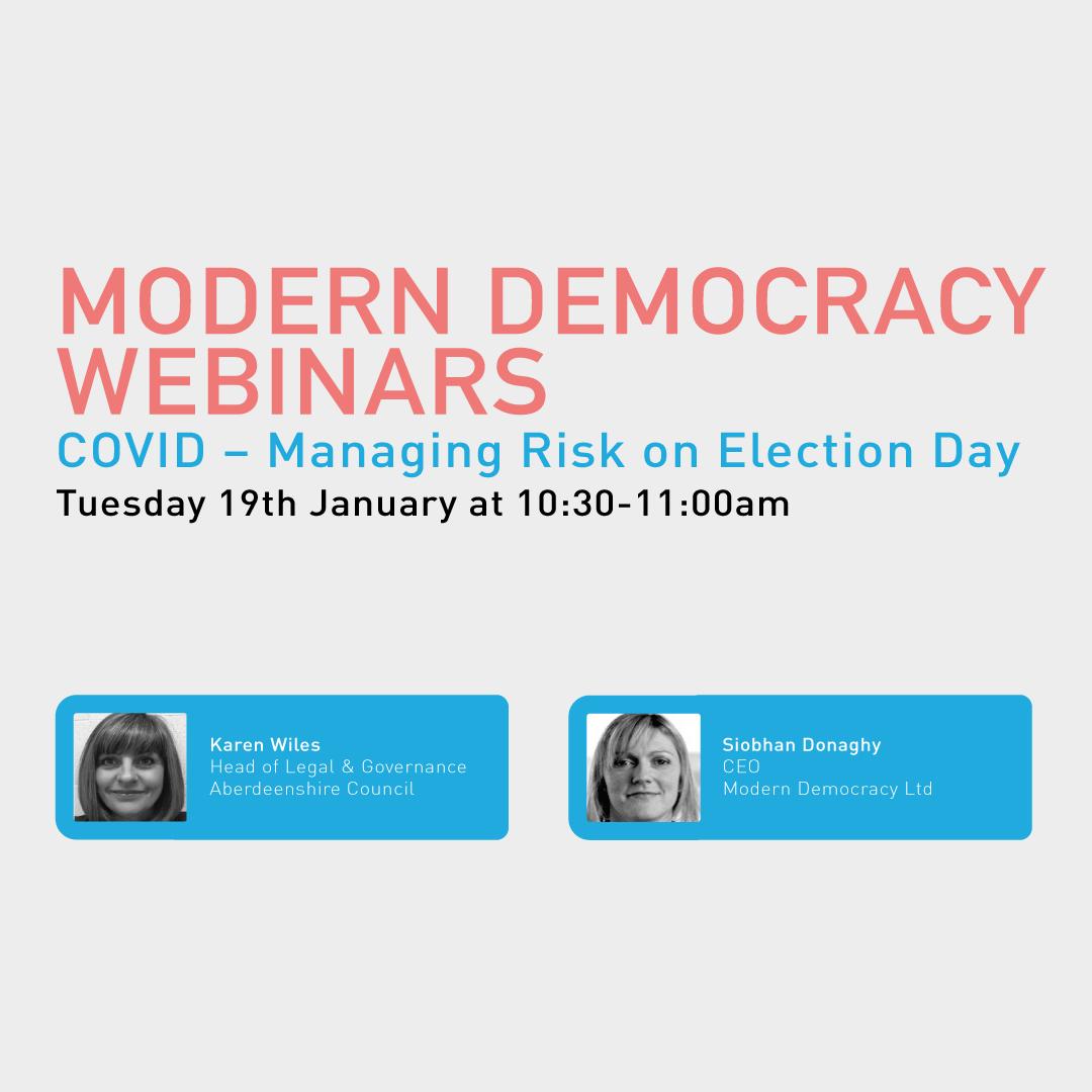 Modern Democracy Webinars